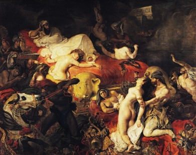 La morte di Sardanapalo Eugène Delacroix