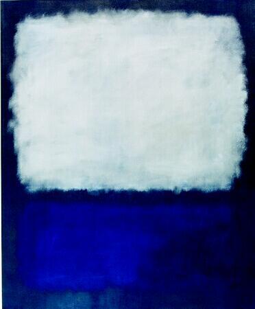 Mark Rothko, Blue and Grey, 1958