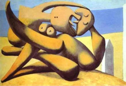 pablo-picasso-figures-on-a-beach