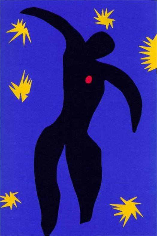 Henri Matisse - Icarus