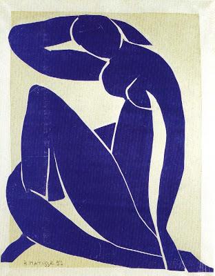 Nu Azul, de Matisse