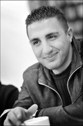 Najwan Darwish, Žcrivain, Bruxelles, mars 208