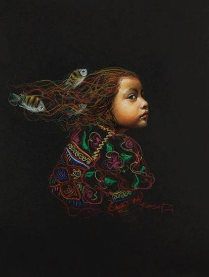 a imagem é de autoria do artista Lucio Kansuet